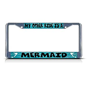 Amazon Com Billion Store My Other Ride Is A Mermaid Metal