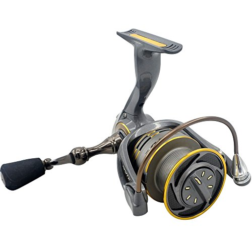- cnnIUHA Aluminum Body Rotor Ultra Smooth 6+1 BB Spinning Fishing Reel for RYOBI ZAUBER