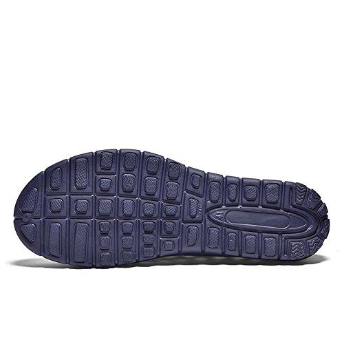 Impermeabili Dimensione On shoes a da Outdoor tacco Sandali da Hollow con uomo Color da EU 44 Xujw Uomo Tacco e Slip Vamp Sandali Rosso 2018 spillo donna Blu TA6wS1qS