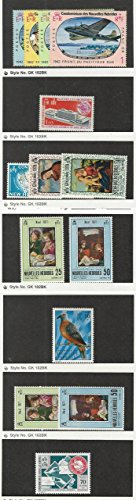 New Hebrides - French, Postage Stamp, 139//212 Mint NH & LH, 1967-74