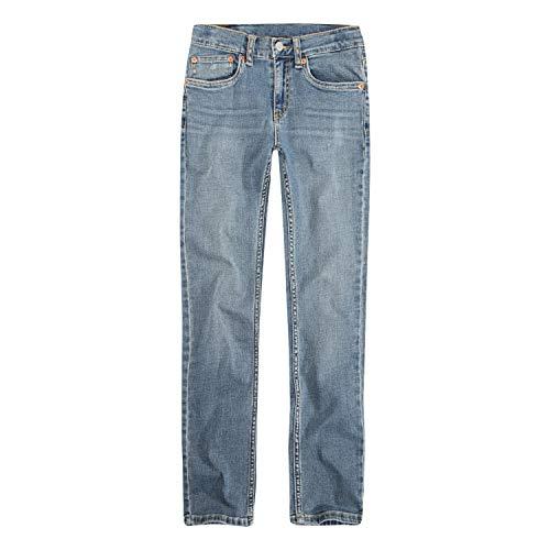 Levi's Boys' Big 512 Slim Fit Taper Jeans, Haight, 14 (Levi 505 Slim Boys)
