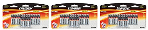 Energizer Max AAA RgoNks Premium Alkaline Batteries, 16 Count, 3 Pack by Energizer