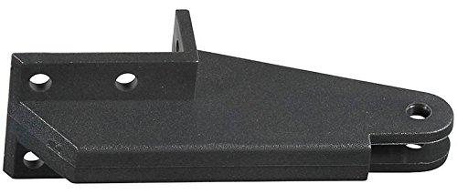 Stanley N349-324 National Hardware Replacement Post Jamb Bracket, for Use with V1709 and V1346 Door Closers, Plastic, Black