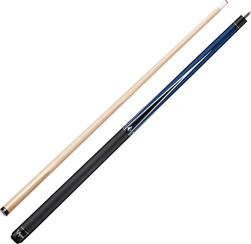 "Viper Diamond 58"" 2-Piece Billiard/Pool Cue, Blue, 21 Ounce"
