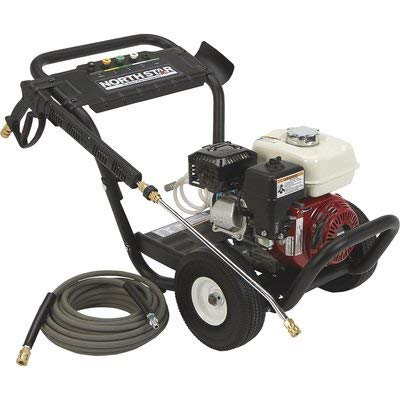 Northstar-Gas-Cold-Water-Portable-Pressure-Washer-Power-Washer-3300-PSI-25-GPM-Honda-Engine-Model-Number-157123