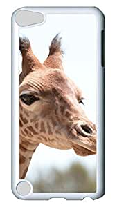 Brian114 Case, iPod Touch 5 Case, iPod Touch 5th Case Cover, Cute Animals Giraffe 16 Retro Protective Hard PC Back Case for iPod Touch 5 ( white )