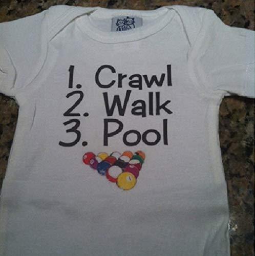 Amazon com: crawl walk pool infant one piece billiards baby