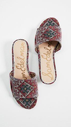 Sam Edelman Womens Liliana Slide Sandal Red Multi WAFPE