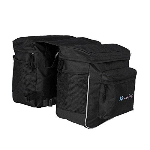 Water-chestnut Bicycle Unilateral Luggage Bag Outdoor Waterproof Bike Rear Rack Carrier Bag by Water-chestnut