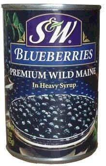 S&W Blueberries Can - Diversion Safe