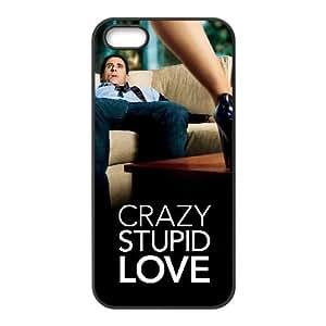 C5B27 Crazy, Stupid, Love. Alta Resolución cartel funda iPhone L8I8RJ funda de caso 5 5s teléfono celular cubren WW9VGM6RJ negro