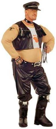Disfraz de Motero Rockero para hombre: Amazon.es: Juguetes y juegos