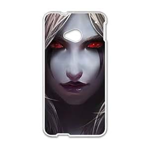 HTC One M7 White phone case World of Warcraft Sylvanas Windrunner WOW9019290