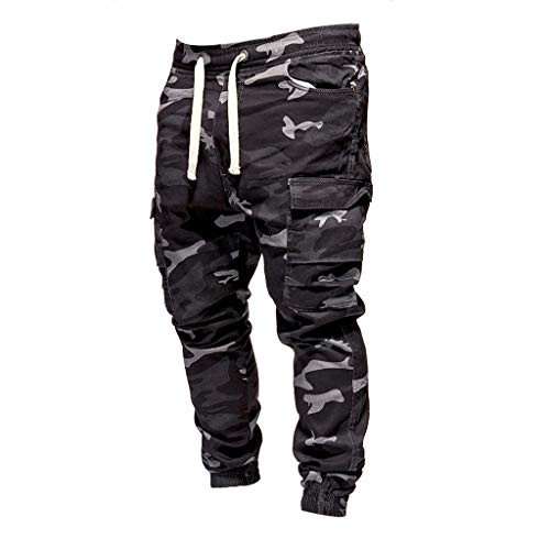 Summer Comfy Linen Pure Color Pocket Baggy Trousers Casual Harem Pants Meigeanfang Mens Pants