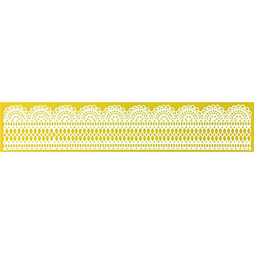 Antique Lace Border Silicone Lace Mat by Chef Alan Tetreault