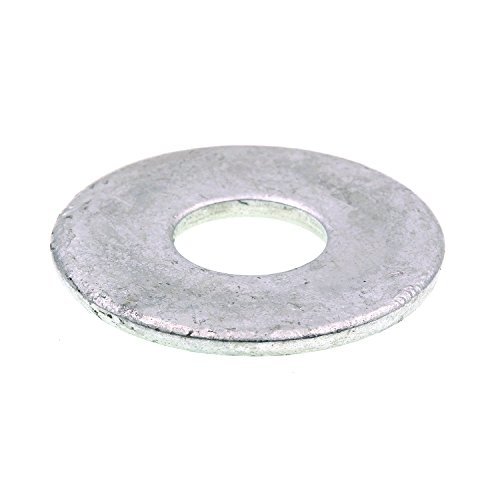 Prime-Line 9080272 Flat Washers, USS, 5/8 in. X 1-3/4 in. OD, Hot Dip Galvanized Steel, 25-Pack