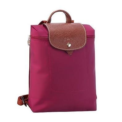 Longchamp Le Pliage Backpack Color Cyclamen Pink  Amazon.co.uk  Shoes   Bags 2c569f2844366
