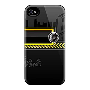New Musical Vector Tpu Case Cover, Anti-scratch Xywaoaj2002Tyogs Phone Case For Iphone 4/4s