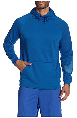 NIKE Dry Men's DRi-Fit Training Hoodie Hooded Sweatshirt Blue AJ4434 408 (m)