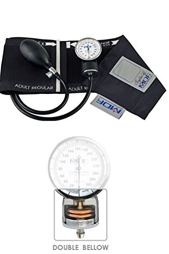 MDF Calibra Pro Aneroid Sphygmomanometer - Professional Blood Pressure Monitor with Adult Sized Cuff Included - Full & Free-Parts-For-Life - Black (MDF808B-11) by MDF Instruments (Image #2)