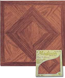 Amazon.com: Madison Vinyl Self Stick Floor Tile 2553 Home