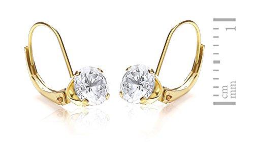 Carissima Gold - 1.58.5069 - Boucles d'Oreilles Femme - Or jaune 375/1000 (9 Cts)