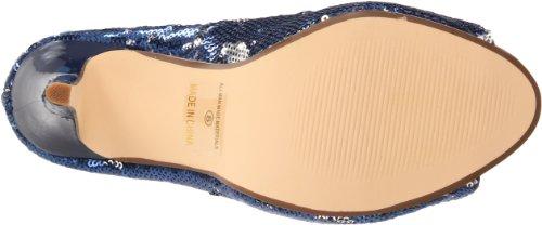Ellie Shoes Womens 415-flamingo Pump Blue