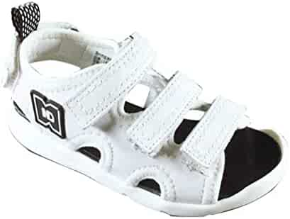 e2d6685af908f Claire L Markle Girls Boys 3 Stripes Sandals Non-Slip Damping Sandals  Breathable Summer Shoes
