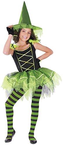 Gothic Ballerina Child Costumes (Ballerina Witch Child Costume - Medium)
