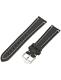 Hirsch 109002-50-20 20 -mm  Genuine Calfskin Watch Strap