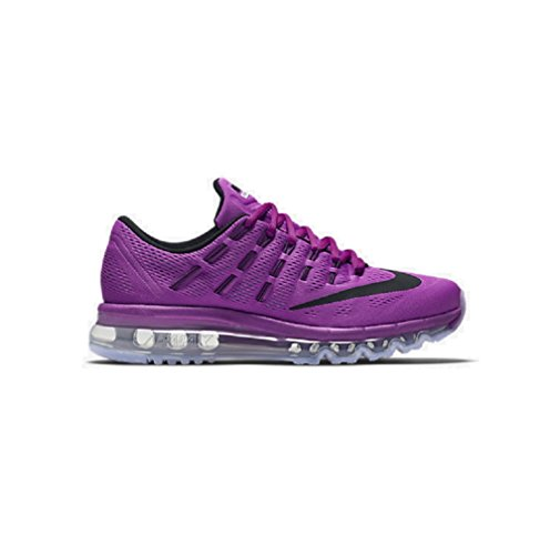 Nike Unisex-Erwachsene Wmns Air Max 2016 Laufschuhe, Grau Violett (Hyper Violet / Schwarz-Gmm Bl-Wht)