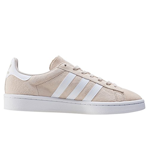 adidas Campus W, Zapatillas de Deporte para Mujer Marrón (Clear Brown/footwear White/crystal White)