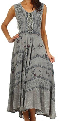Sakkas 22311 Garden Goddess Corset Style Dress -