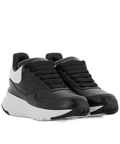 McQueen Women's Sneakers 520014WHRU31070 Alexander Leather Black TxqwZZdC