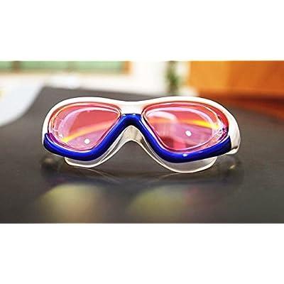 adultes Utilisation Lunettes de natation de haute qualité Couleur Antifogging Anti-ultraviolet Lunettes de natation