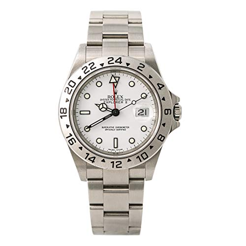 Rolex Explorer II Automatic-self-Wind Male Watch 16570 (Certified Pre-Owned) -