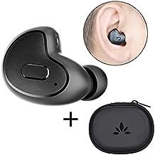 Avantree Mini auriculares, pequeñas y auricular inalámbrico bluetooth para podcasts & audiolibros, Invisible & Snugly Fit, Derecho Ear utilizar sólo–Apico