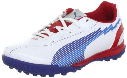 Weiãÿ Mixte De Tt Jr 5 Football Evospeed rot Puma Chaussures blau Enfant qzZ0F