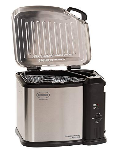 For Sale! Masterbuilt MB23012418 Butterball XL Electric Fryer, Gray (Renewed)