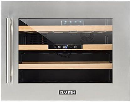 Mini Kühlschrank Temperatur Einstellbar : Klarstein vinsider d u weinkühlschrank u getränkekühlschrank