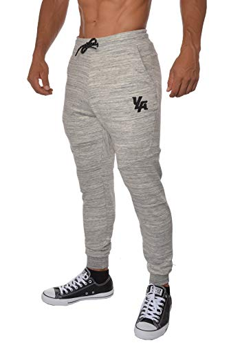 YoungLA French Terry Cotton Sweatpants Jogger Pants Marble Large