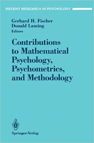 Contributions to Mathematical Psychology, Psychometrics, and Methodology (Recent Research in Psychology)