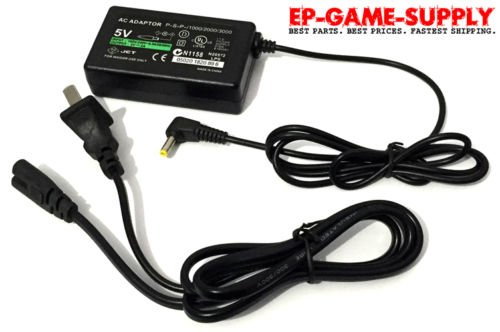 Wall Charger AC Adapter Power Supply Home Cord for Sony PSP 1001 2001 3001 Slim (Charger Psp Home)