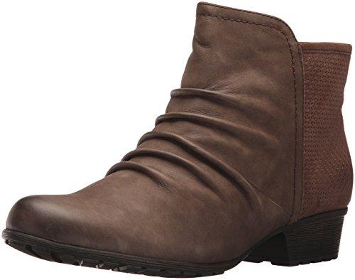 Cobb Hill Women's Gratasha Panel Ankle Boot, Stone Nubuck, 10 M US