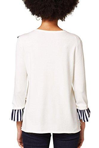 110 Pull by Esprit Femme Blanc White Off edc nPRawqW4W