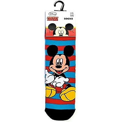 Disney - Mickey Mouse - Calcetines - Rojo / azul - 31/36