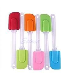 Get 1pc Kitchen Silicone Cake Spatula Mixing Scraper Brush Butter Utensil Tool lowestprice