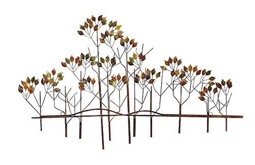 bombayjewel Tree of Life Metal Wall Art Sculptures Home Decor, Brown Bronze