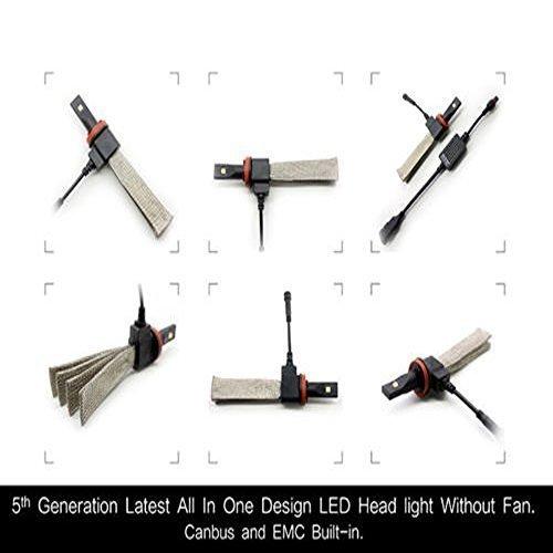 Rolinger 5th Generation Led Headlights Kit H4 Hi Lo Beam