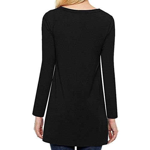 V Dcontract Femme Courtes Top Solid Chemisier Manches Col DAYLIN Noir XEq4A